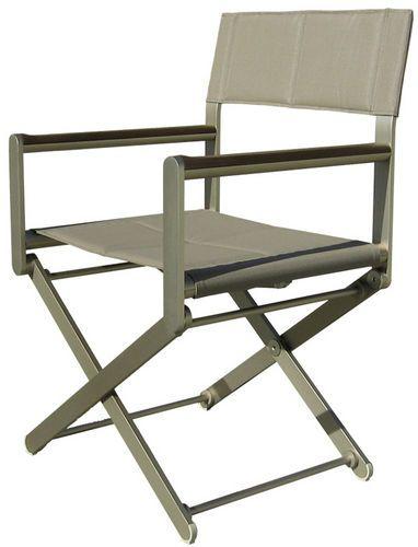 mobiliario para barcos : silla de director de cine (de aluminio, plegable) OSKAR BRONZE Valdenassi