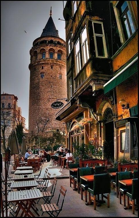 Galata Tower, Kuledibi, Istanbul, Turkey