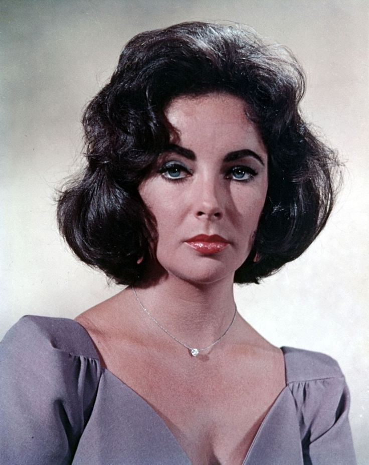 Elizabeth Taylor — Elizabeth Taylor: an enduring beauty icon: perfect...
