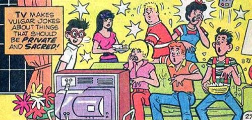 """#8. Still Better Than """"Two and a Half Men"""" From """"Archie's Date Book""""  Read More: The 12 Craziest Moments From Archie's Christian Comics 