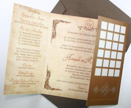 20 best Weddings images on Pinterest Weddings, Filipino wedding - fresh sample wedding invitation tagalog version