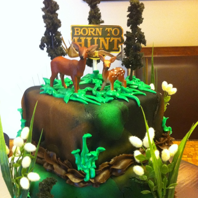 Hunting Cake Ideas For Men 51323