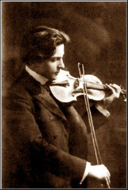 George Enescu. Romanian violinist, composer, pianist, and conductor.