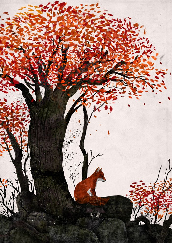 Beautiful Exploration of Nature and Color Illustration by Gelrev Ongbico                                                                                                                                                      More