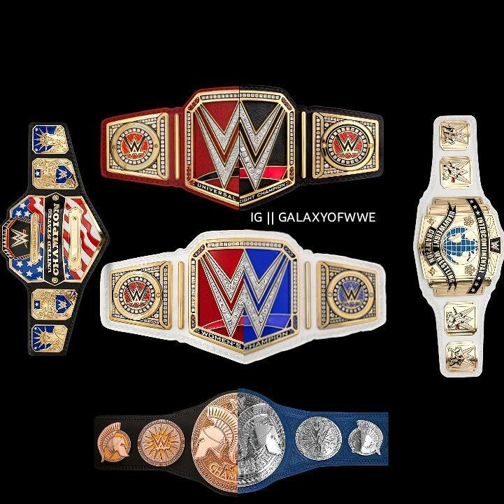 The entire Monopoly of the WWE titles.
