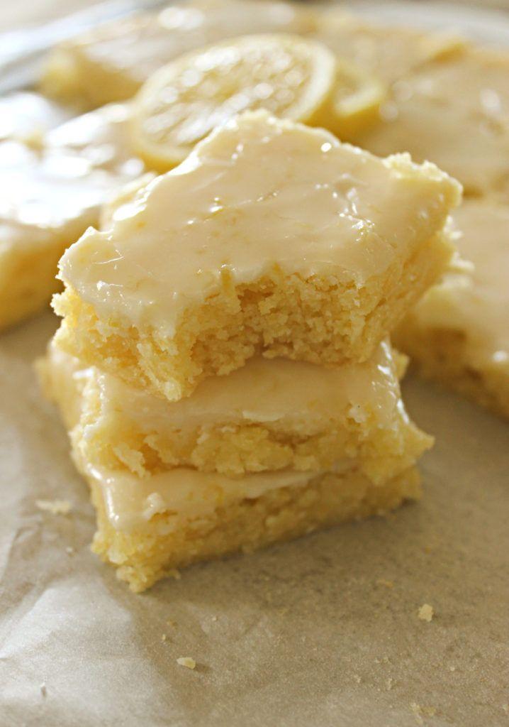 Lemon Blondies I Dig Pinterest Recipe Dessert Recipes Easy Lemon Dessert Recipes Baking Recipes