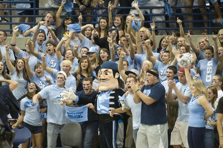 Diego the Torero and USD students #Ole