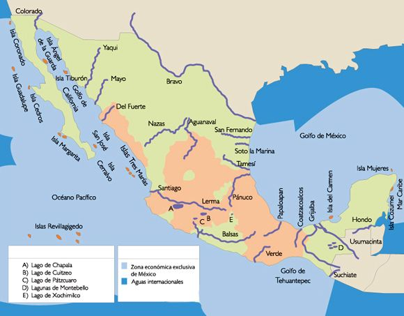 Documento Sin Titulo Mapas Isla Margarita Oceano Pacifico