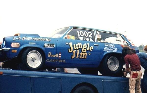 Jungle Jim's Vega Wagon Pro Stock car