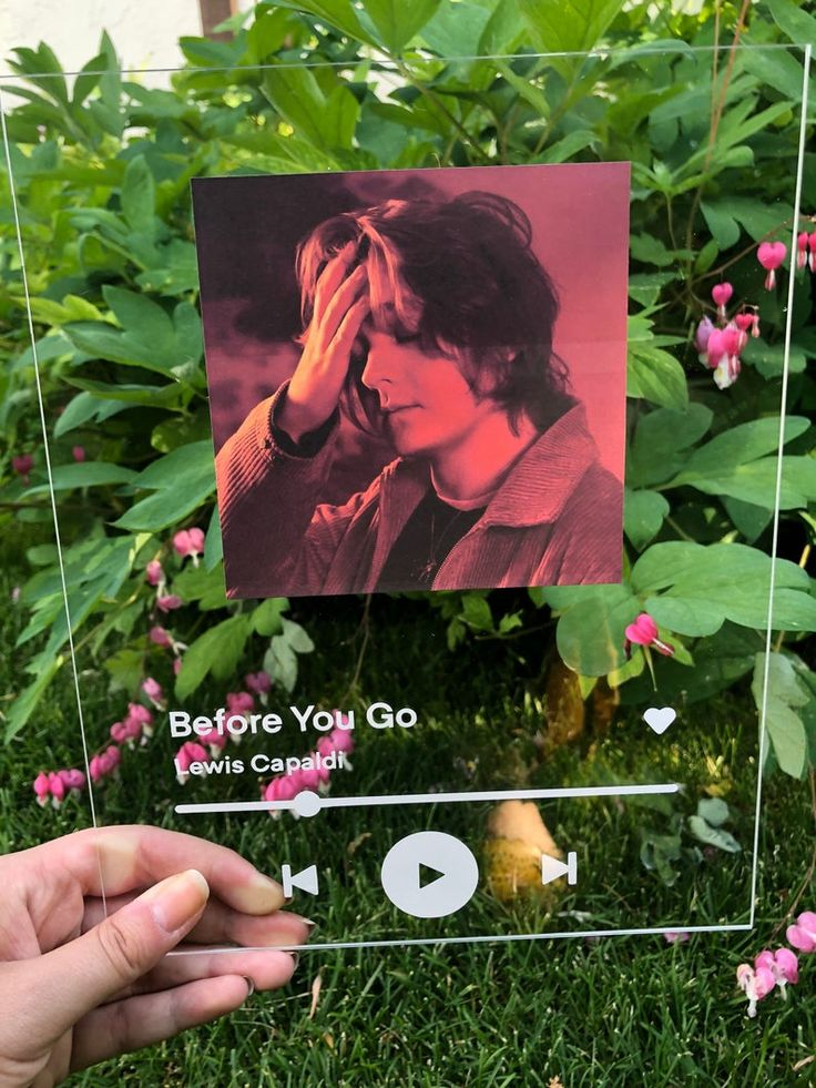 Custom Acrylic Song Album Spodify Song Poster Custom Music