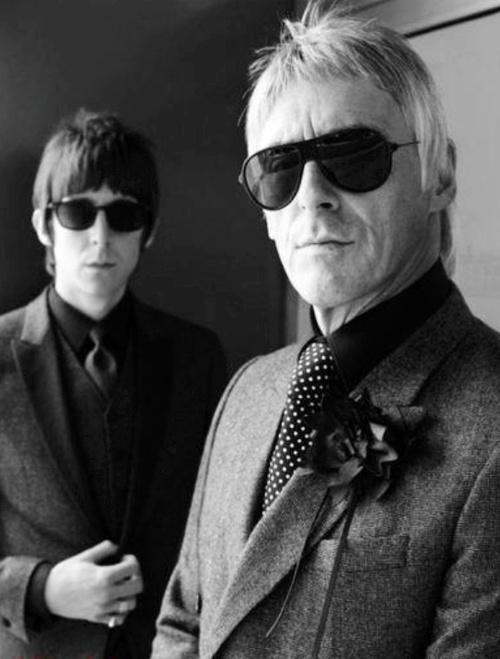 Miles Kane & Paul Weller -Both looking cool as fuck