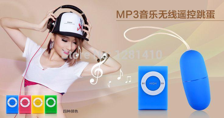 Женский Вибраторы MP3 беспроводной пульт дистанционного управления преобразования Частоты обращение ударные прыжок яйца для Мастурбации, анальный секс