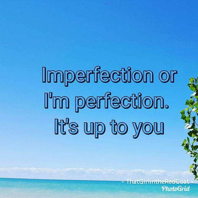 Up on the blog Beauties! #perfection #imperfection #blogger #newbeginnings #rethinking #thatgirlintheredcoat #consultant