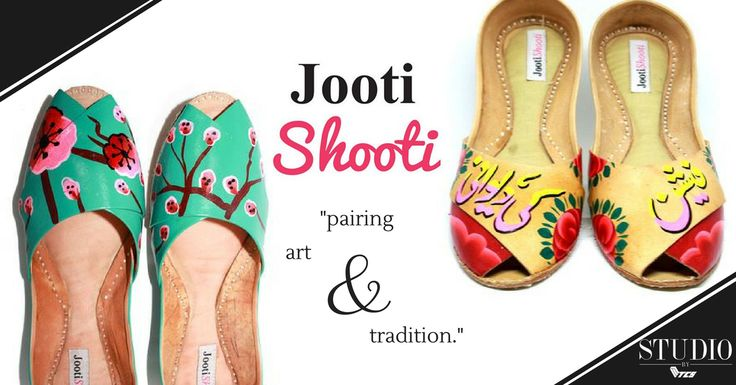 JootiShooti - shop artistic footwear at Studio by TCS. #Pakistan #fashion #style #footwear #khussas