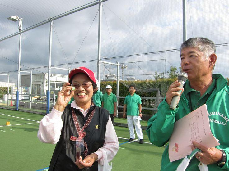 特別賞は和歌山国体の記念バッジ