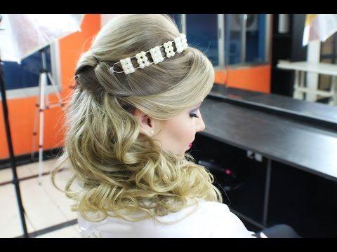 Penteado prático e versátil - Por Sonia Lopes - YouTube