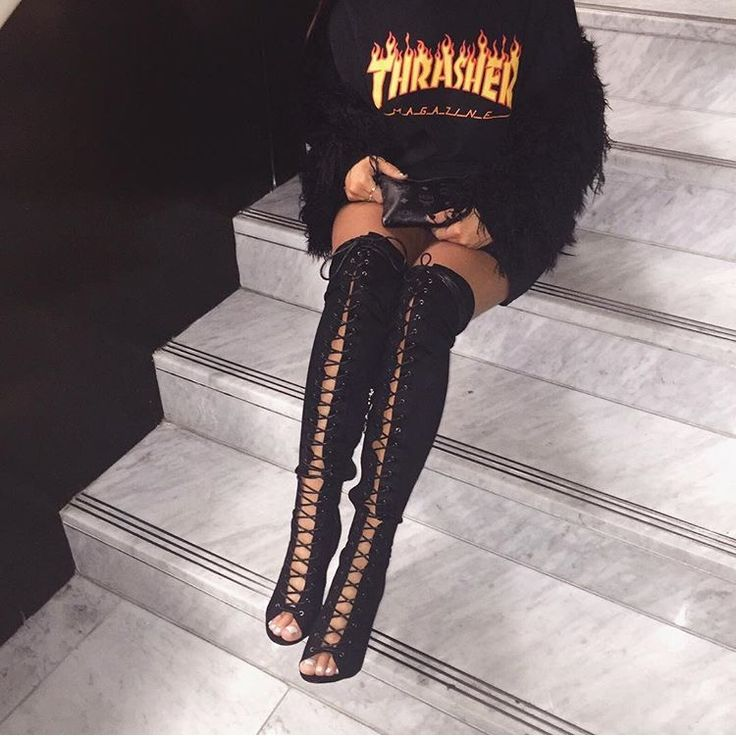 @shawtytoothick ♕ ♡   shoes   Fashion, Thrasher outfit ...