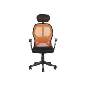 THE GROMALLA HB EXECUTIVE MESH CHAIR ORANGE AND BLACK u can adjust the recline of this office chair to your desired angle.Mesh Office Chairs, Modular Office Furniture, Office Executive Chairs