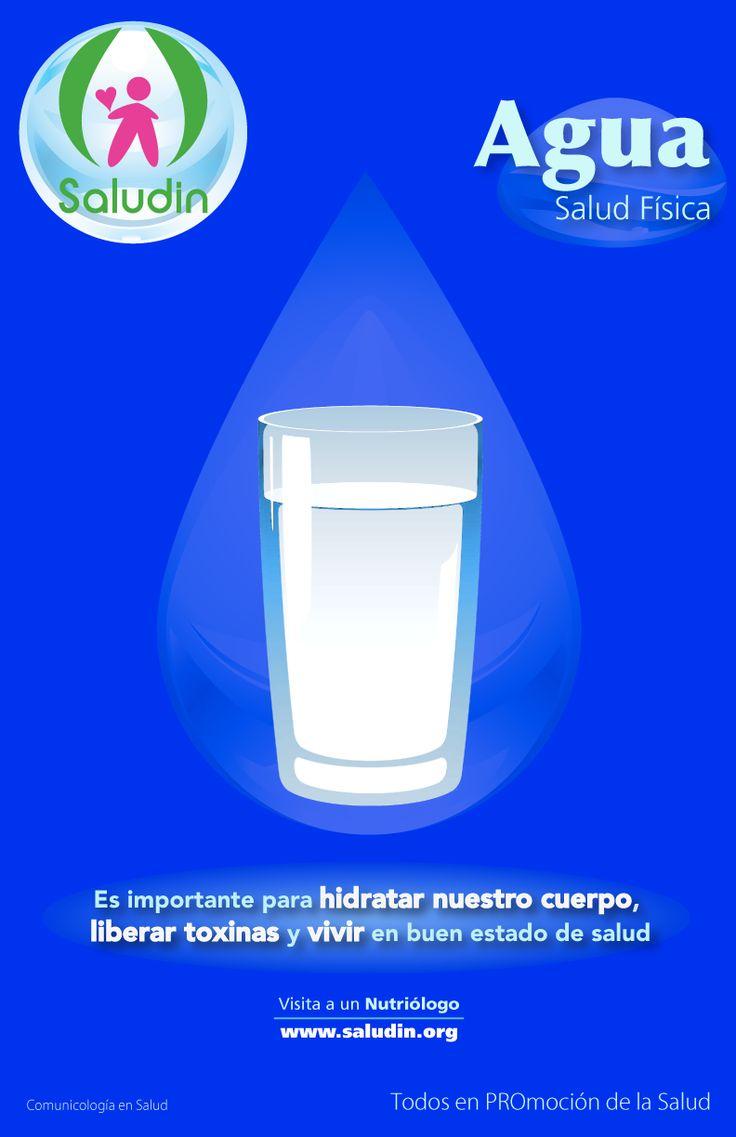 Cartel #Agua #Nutricion  Elimina Toxinas