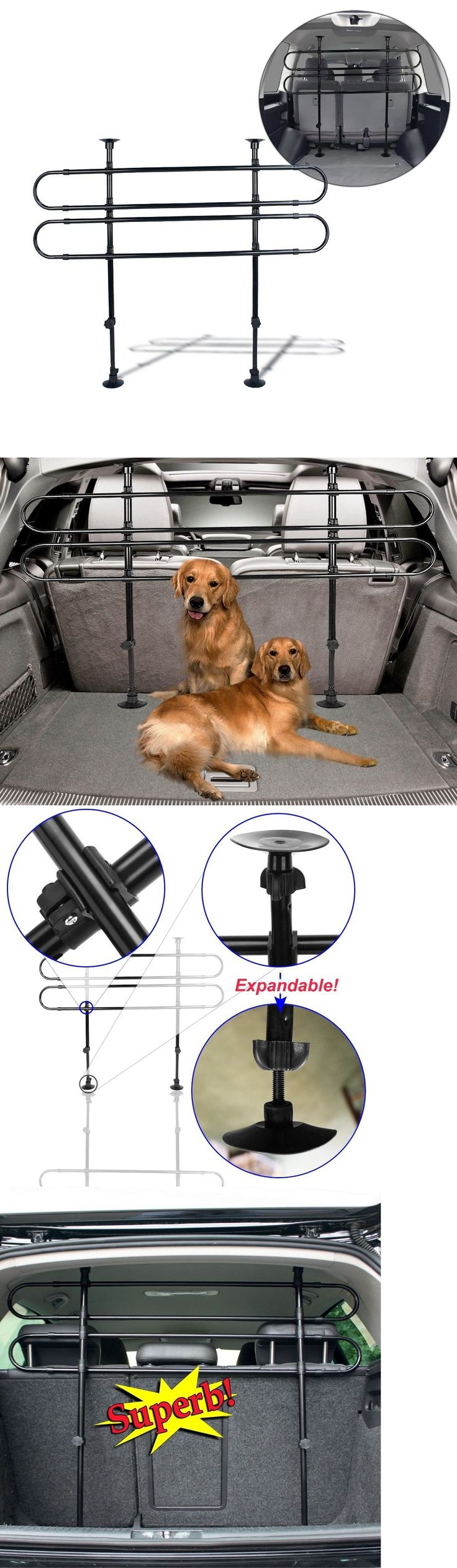 Car Seats and Barriers 46454: Pet Barrier Dog Accents Gate Pet Dog Fence Barrier Safety Walk Thru Adjustable -> BUY IT NOW ONLY: $32.8 on eBay!