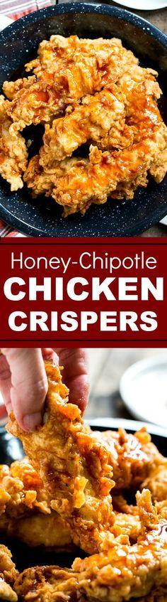 Honey Chipotle Chicken Crispers (Chili's copycat)