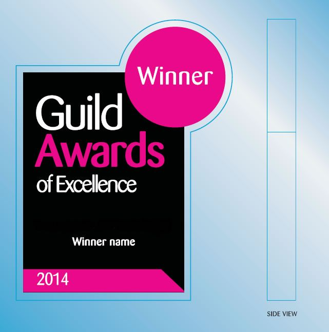Voting in The Guild Awards of Excellence closes at midnight tonight! Below is a sneak preview of our exciting new award design. Make sure you vote for the companies that have really impressed you: http://bit.ly/1jbyCeV