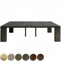 Table Console extensible Bois massif ROBINI XL  Profondeur : 50 / 100 / 150 / 200 / 250 cm  698 € Docteur Discount