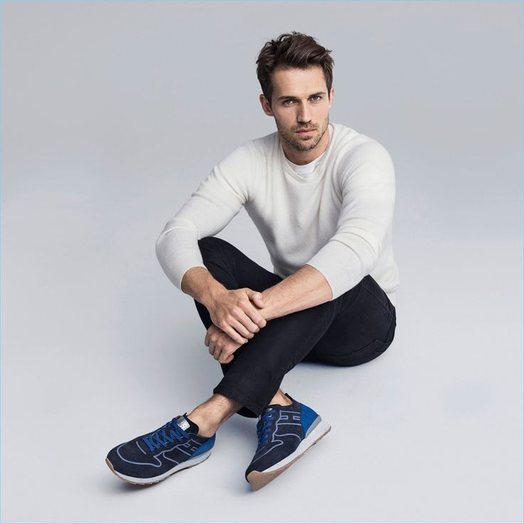 Model Andrew Cooper fronts Hogan's spring-summer 2017 campaign.