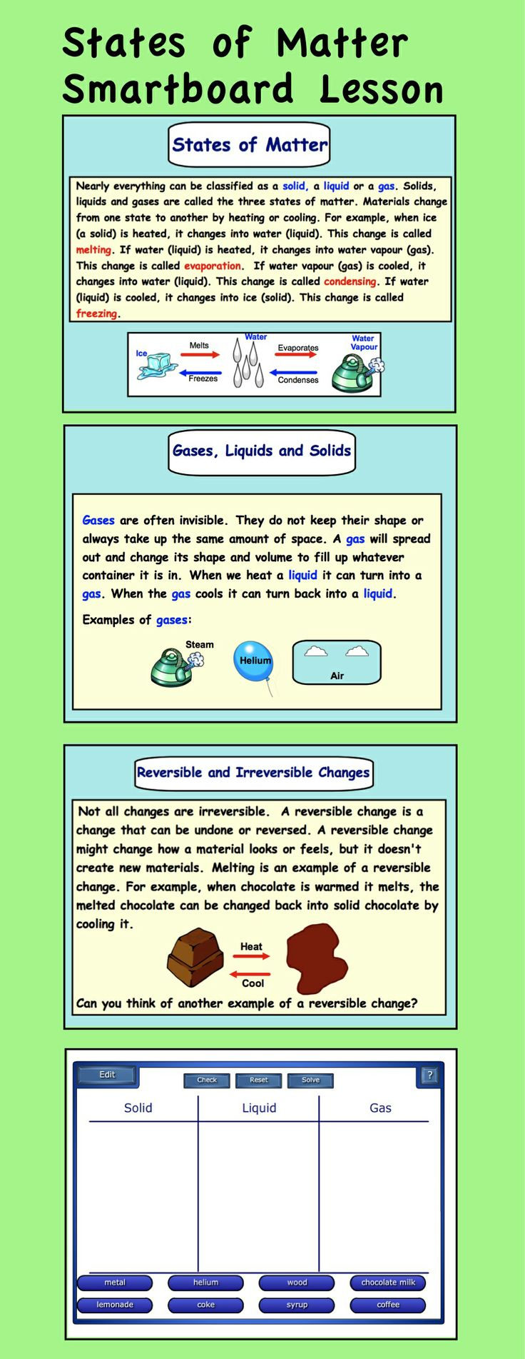 k12the water cycle k12the printable water cycle water matter solids liquids and gases this leads to the water cycle source