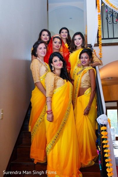 Indian bridal party capture http://www.maharaniweddings.com/gallery/photo/137833
