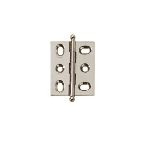 Hafele Elite Mortised Butt Hinge 50X40mm - Brushed Nickel