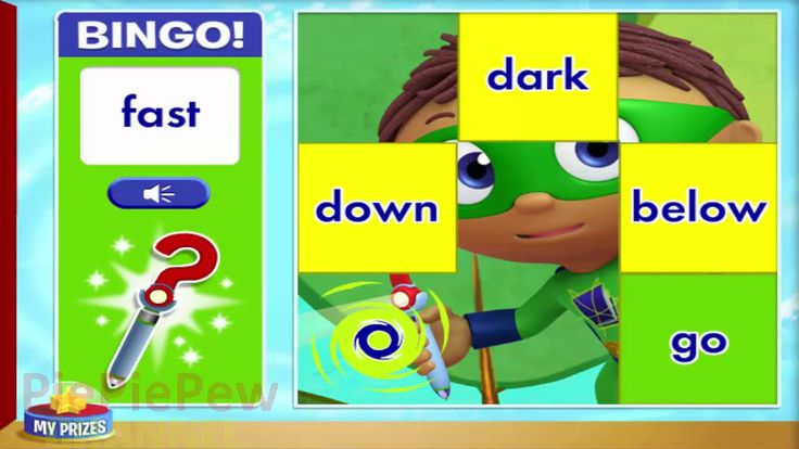 Super Why Adventure Game for Kids Full HD Baby Video l Super WHY Reading...