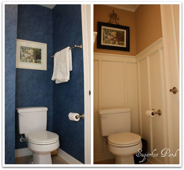 Board and batten bathroom diy perfection and a tutorial for Bathroom design board