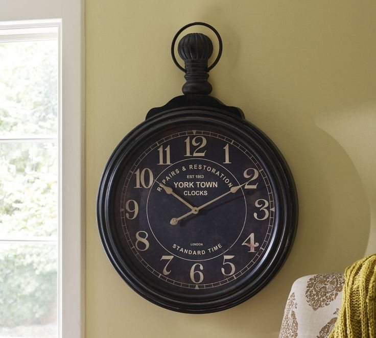 York Town Clock  $239 72cm wide x 8 cm deep x 102cm high