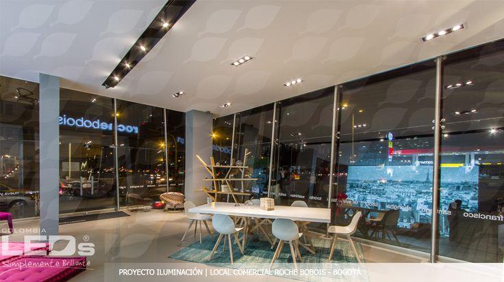 Proyecto de Iluminación|Local Comercial ROCHE BOBOIS Bogotá