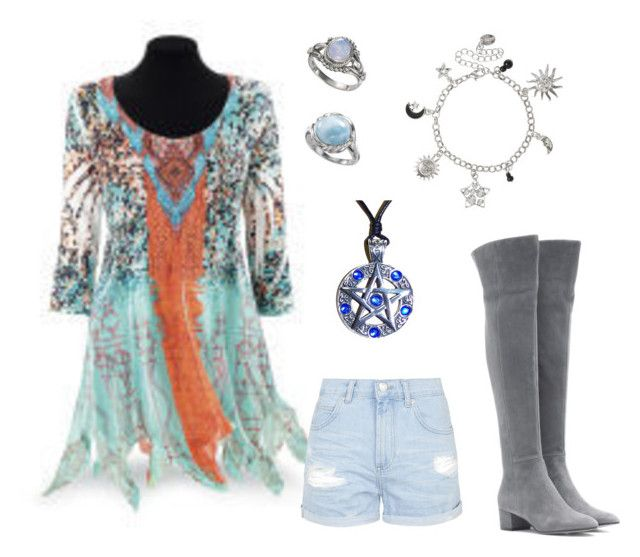 """""""More Blue Witch"""" by vibsitsi on Polyvore featuring art and wicca"""