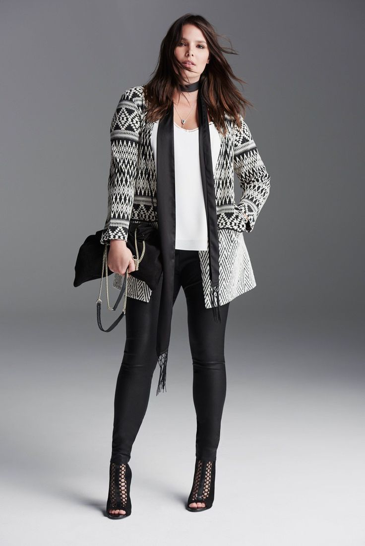Candice Huffine rocks River Island's new plus size looks