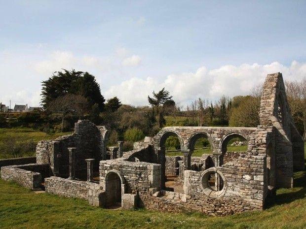 La chapelle de Languidou, à Plovan, dans la baie d'Audierne, en Bretagne