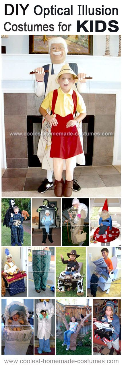 Top 13 Optical Illusion Halloween Costumes for Kids
