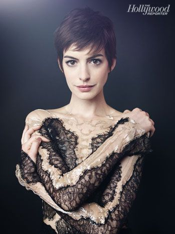 Anne Hathaway for The Hollywood Reporter's Oscar Roundtable 2013 | Photo by Joe Pugliese