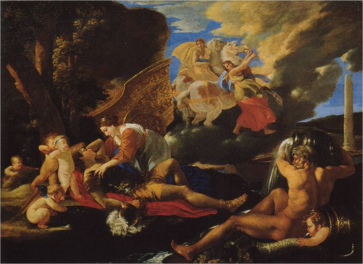 Rinaldo a Armida - Nicolas Poussin