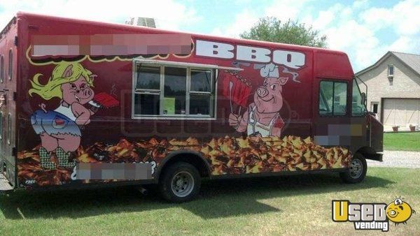 Florida BBQ Food Truck   BBQ Catering Truck for Sale