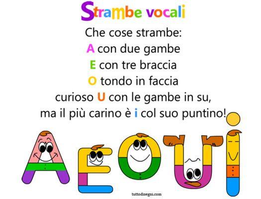 #Italian ~ rhyme-voice
