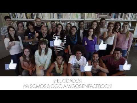 ▶ Vídeo realizado por la ULLMedia de la ULL para celebrar los 3000 seguidores de la página de FACEBOOK de la Biblioteca de la Universidad de La Laguna.