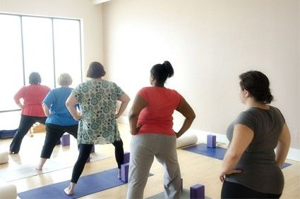 Yoga for Overweight or obese people