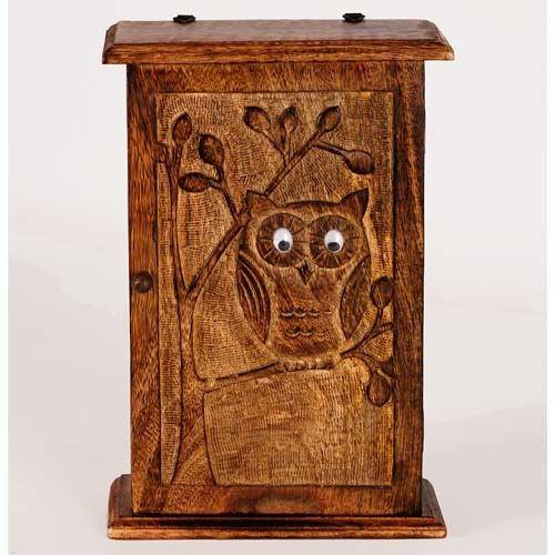 Owl Design Key Box