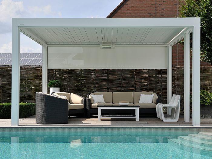 les 25 meilleures id es de la cat gorie pergola blanche sur pinterest pergola de terrasse. Black Bedroom Furniture Sets. Home Design Ideas