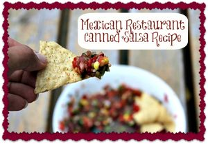 Mexican Restaurant Canned Salsa Recipe (step-by-step directions for delicious homemade salsa--with lots of tips!)
