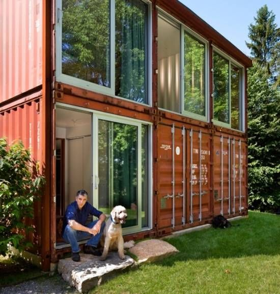 1614 best images about casas ecol gicas on pinterest - Contenedores como casa ...