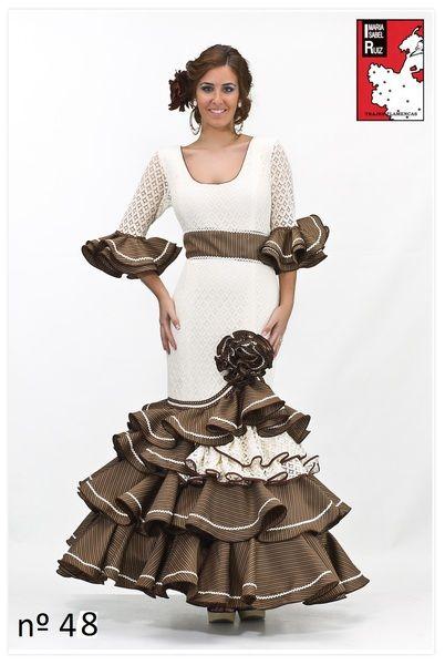 Maria Isabel Ruiz trajes de flamenca desde 100 euros - COLECCION DE TRAJES DE FLAMENCA EXCLUSIVOS 2015